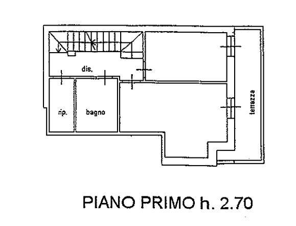 Planimetria 2/4 per rif. 9075