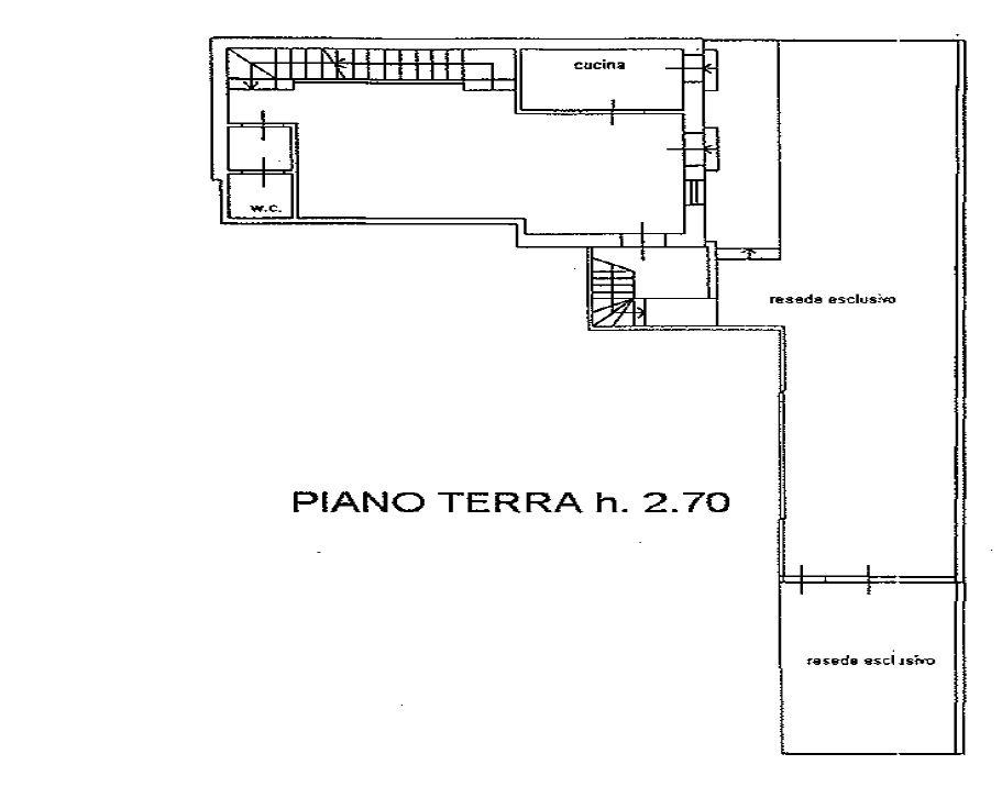 Planimetria 1/4 per rif. 9075