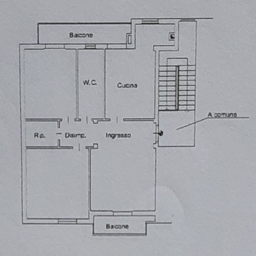 Planimetria 1/2 per rif. 9078