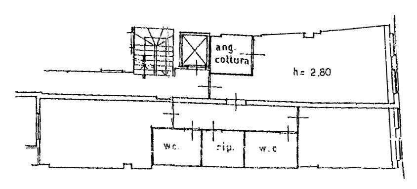 Planimetria 1/2 per rif. 9079