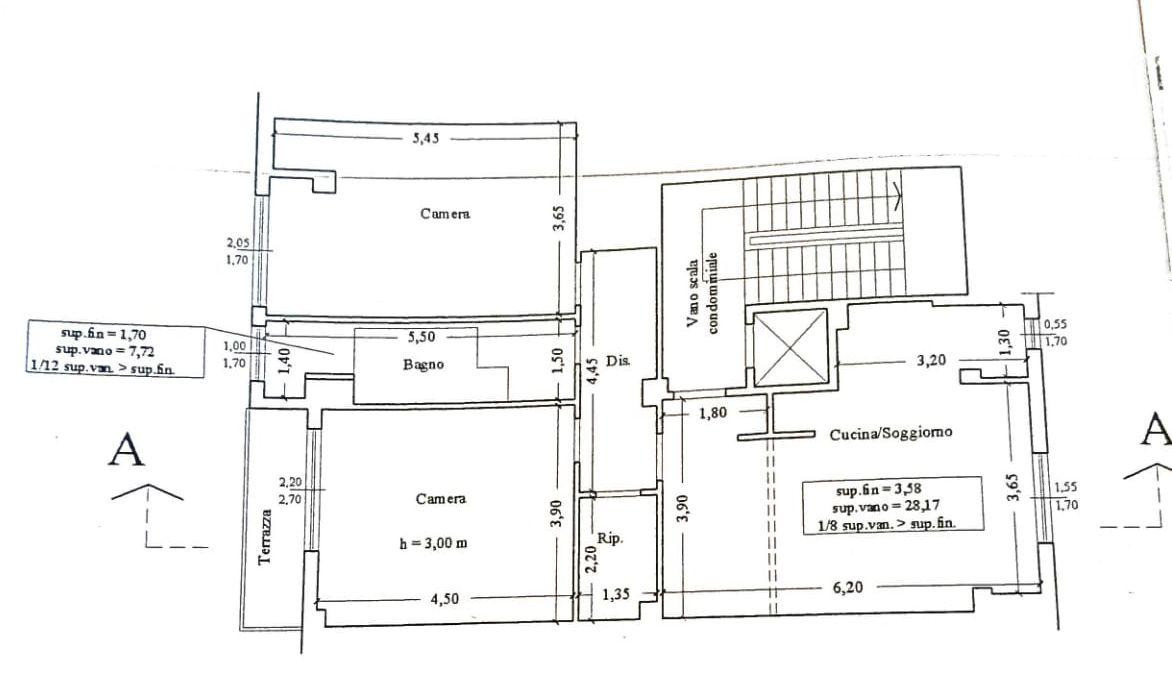Planimetria 1/1 per rif. 9080