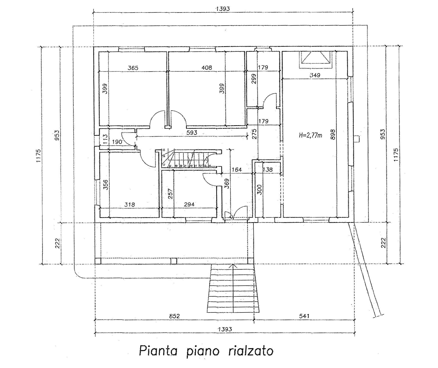 Planimetria 2/3 per rif. 8919