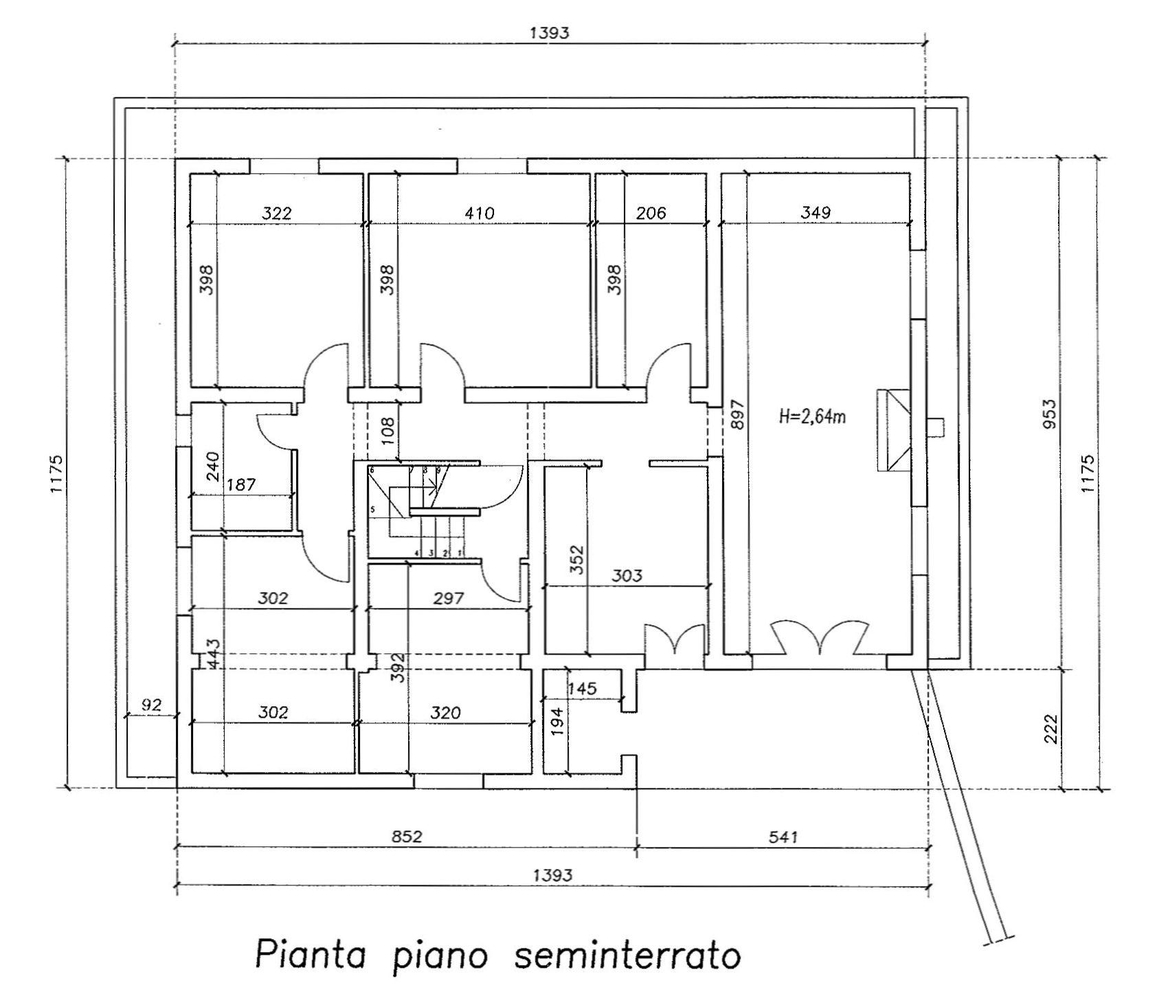 Planimetria 1/3 per rif. 8919