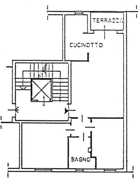 Planimetria 1/3 per rif. 9082