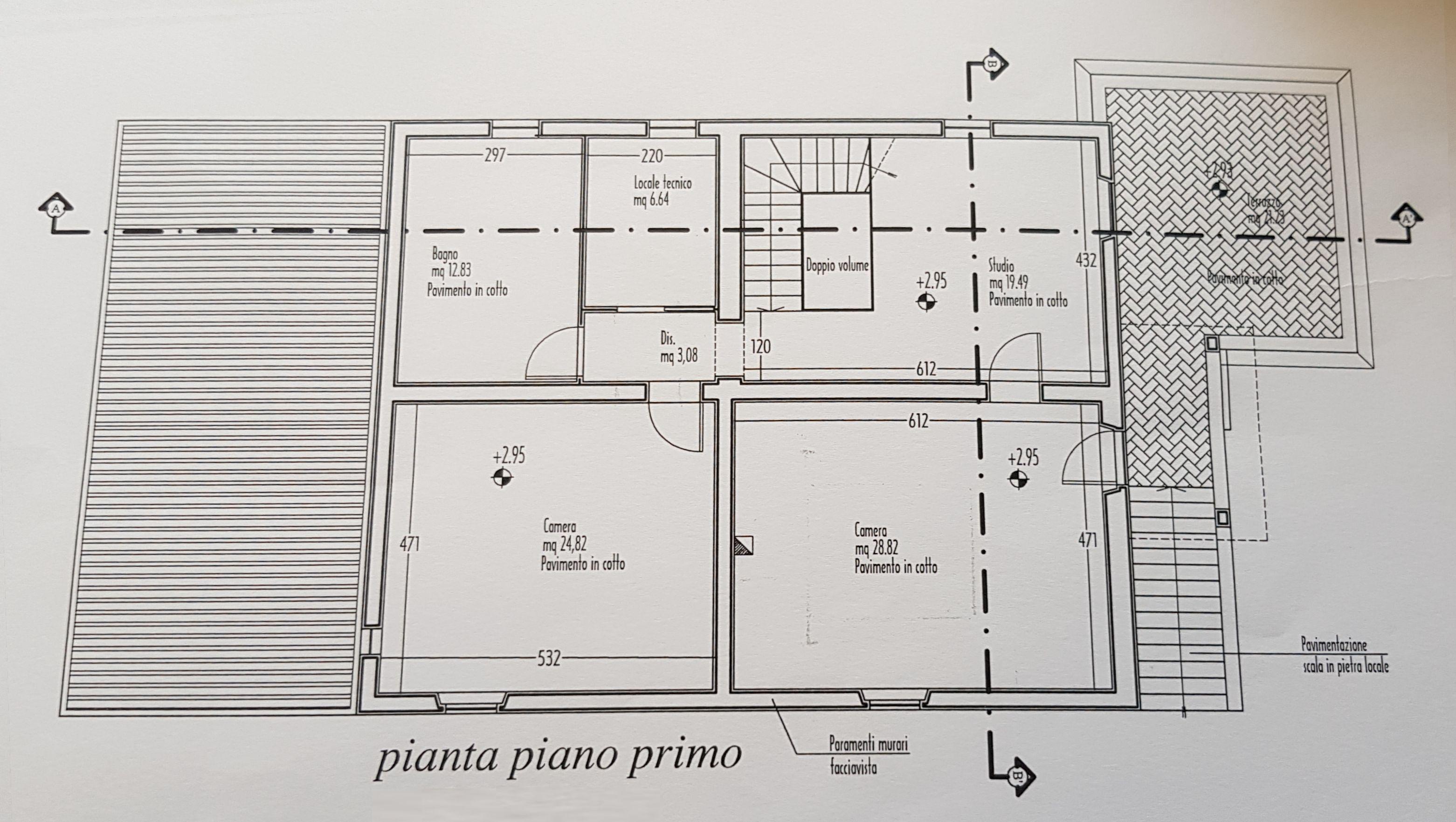 Planimetria 2/2 per rif. 9085