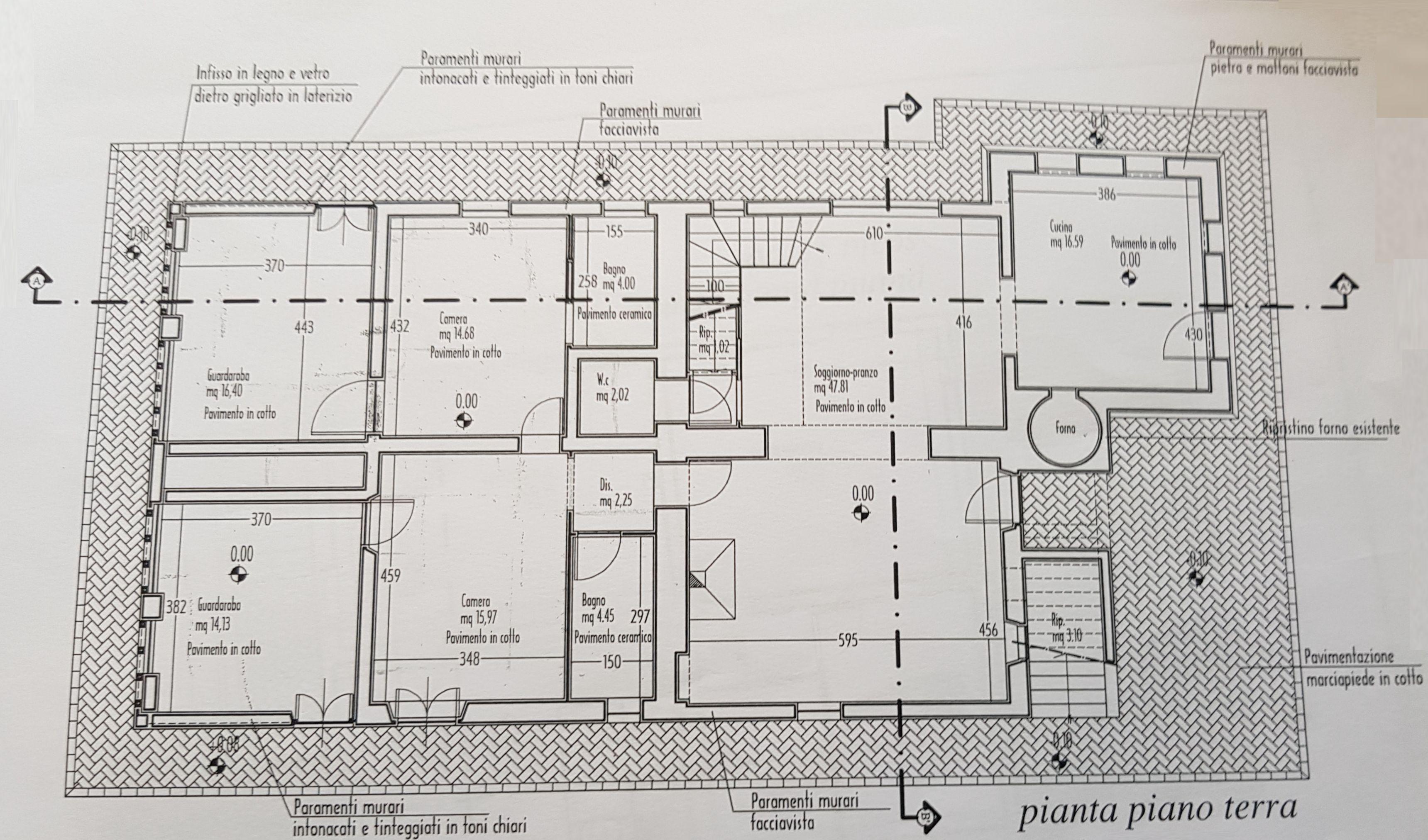 Planimetria 1/2 per rif. 9085