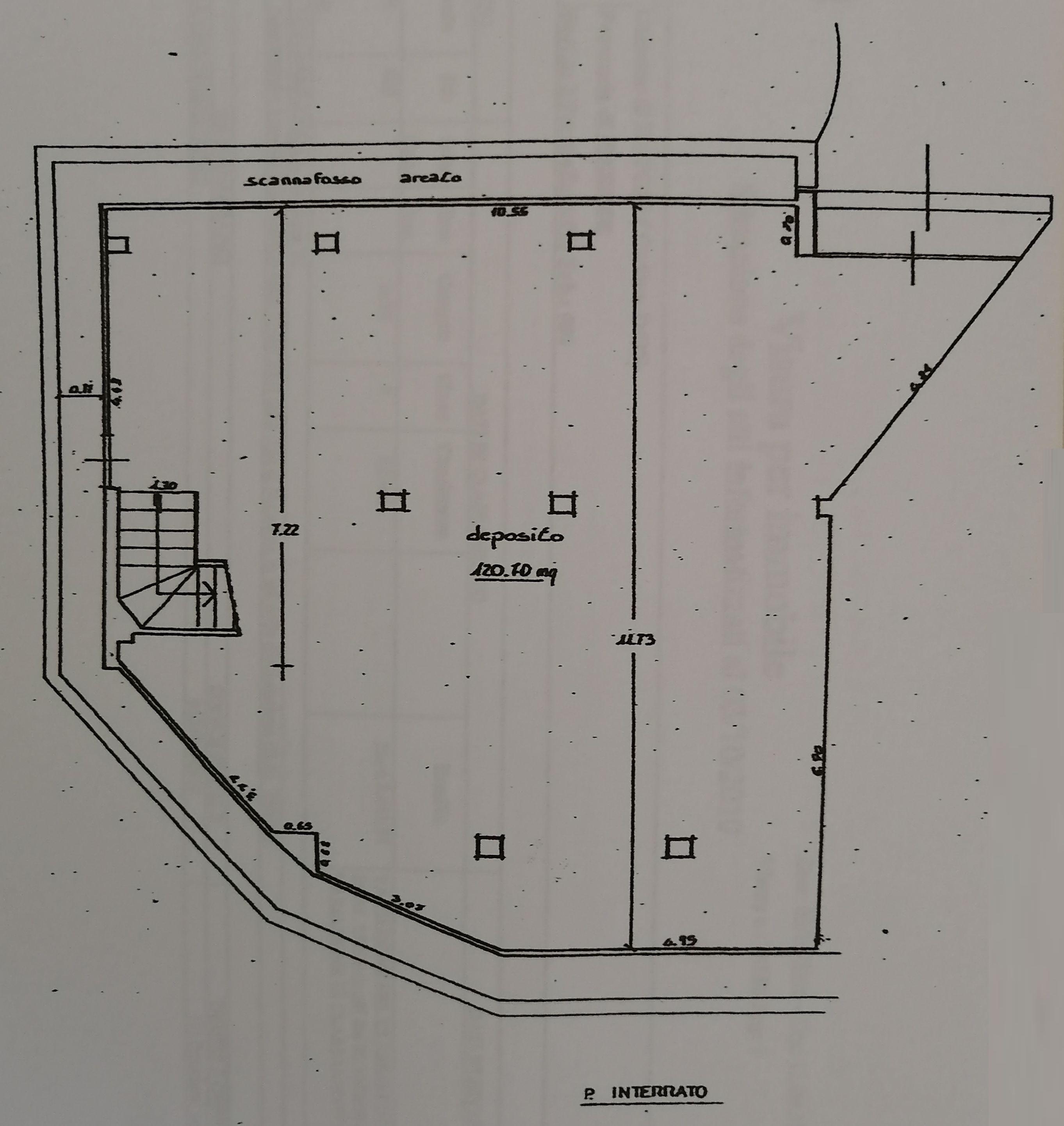 Planimetria 2/2 per rif. 9087