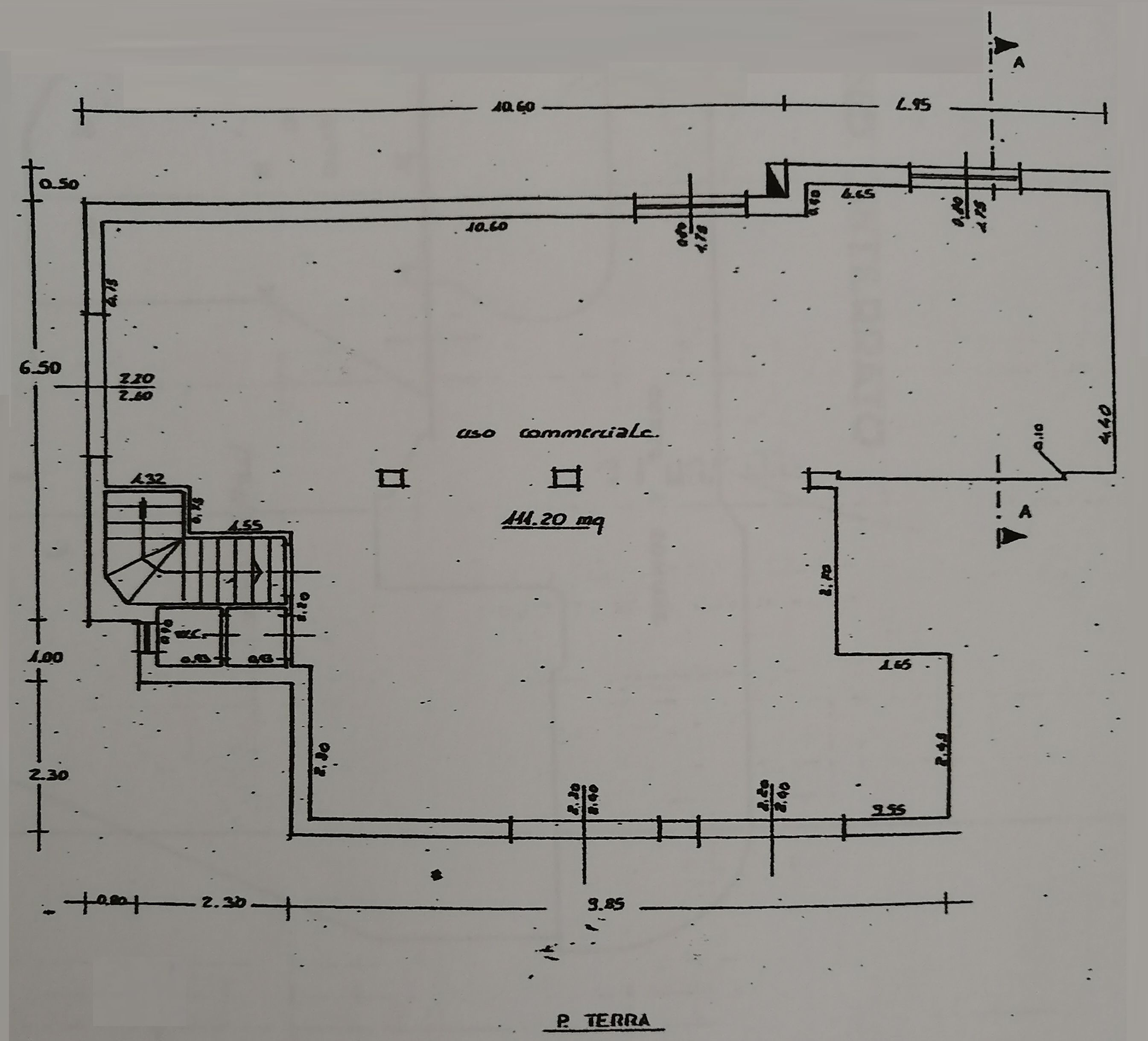 Planimetria 1/2 per rif. 9087