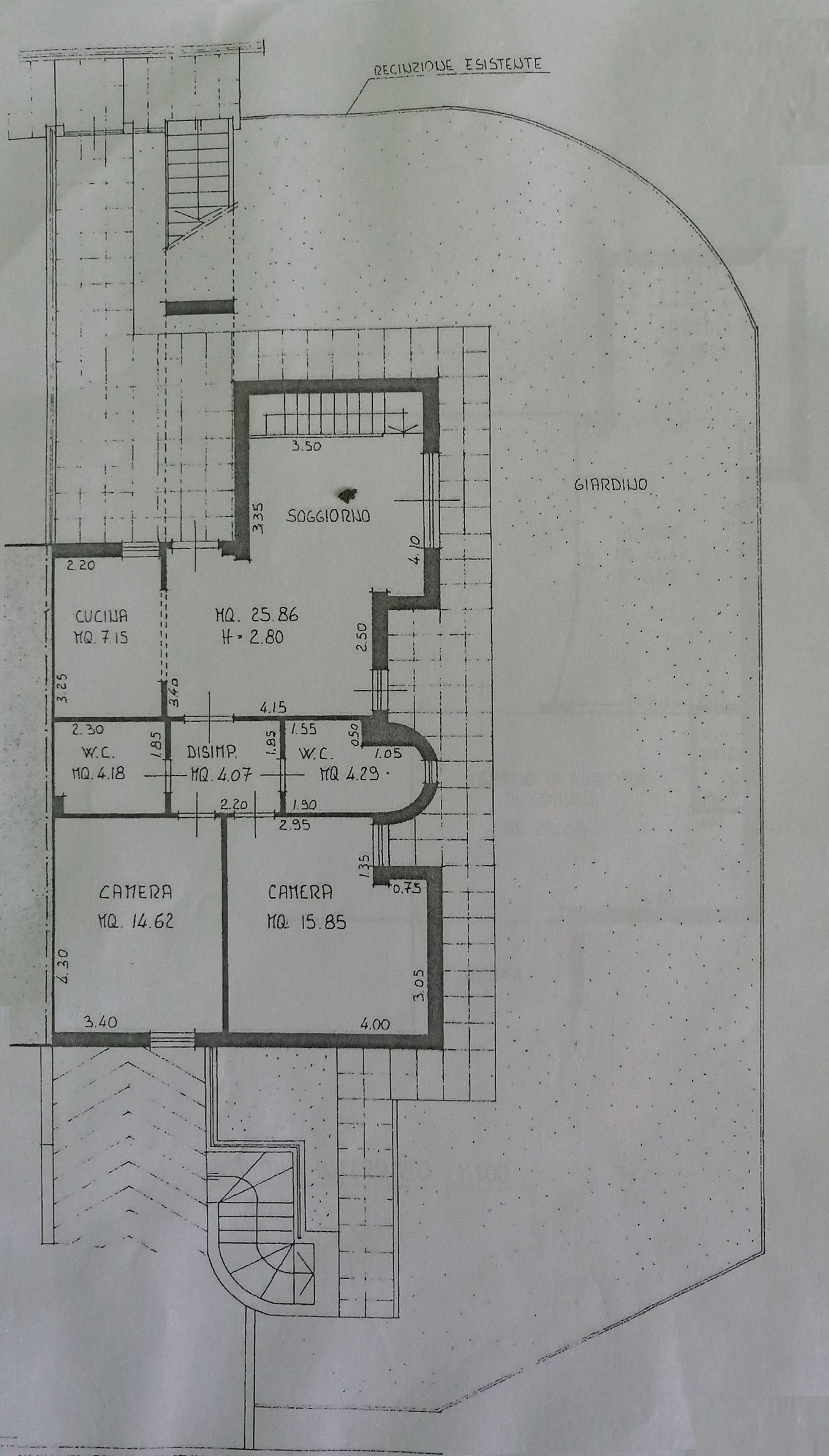 Planimetria 1/3 per rif. 7457-03