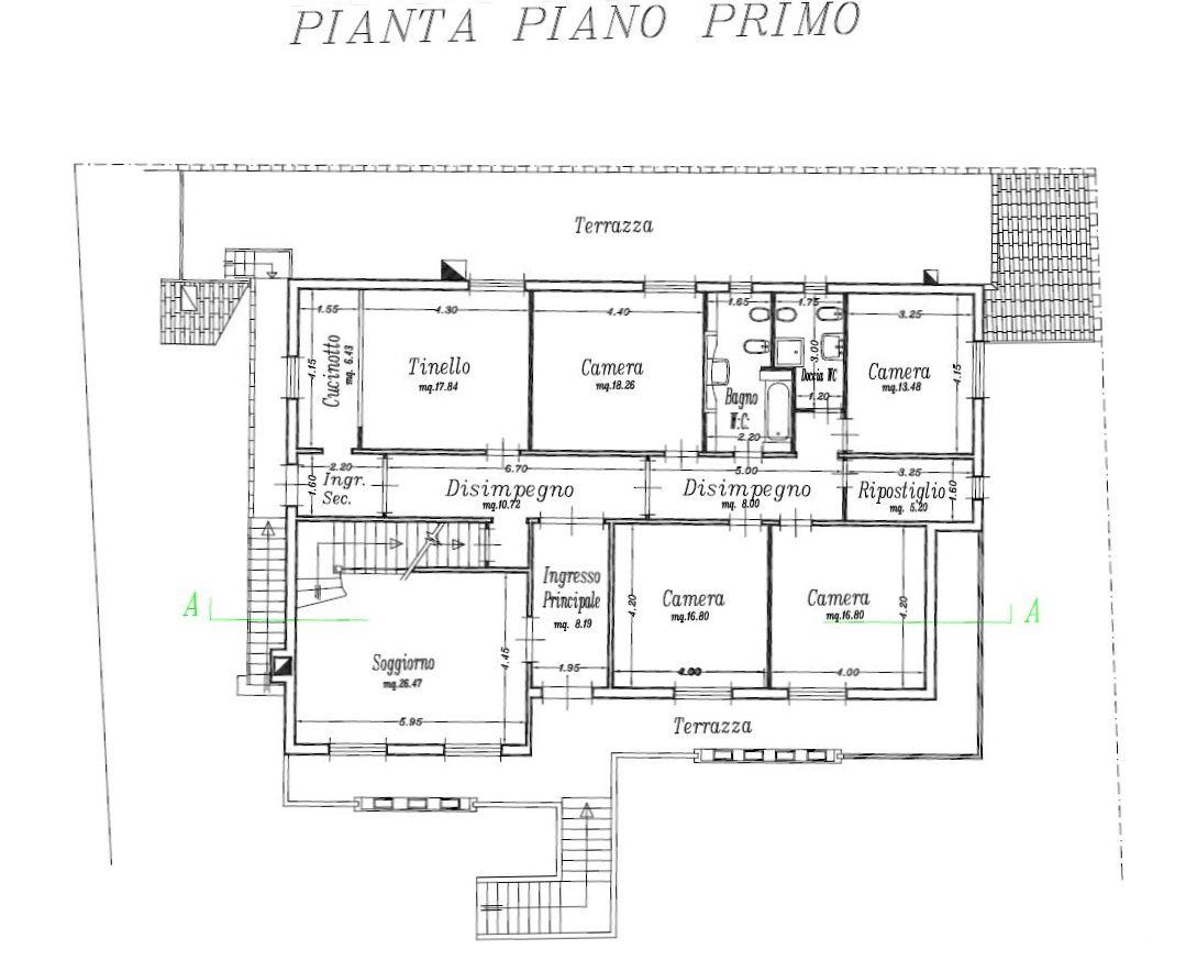 Planimetria 2/5 per rif. 8756-02
