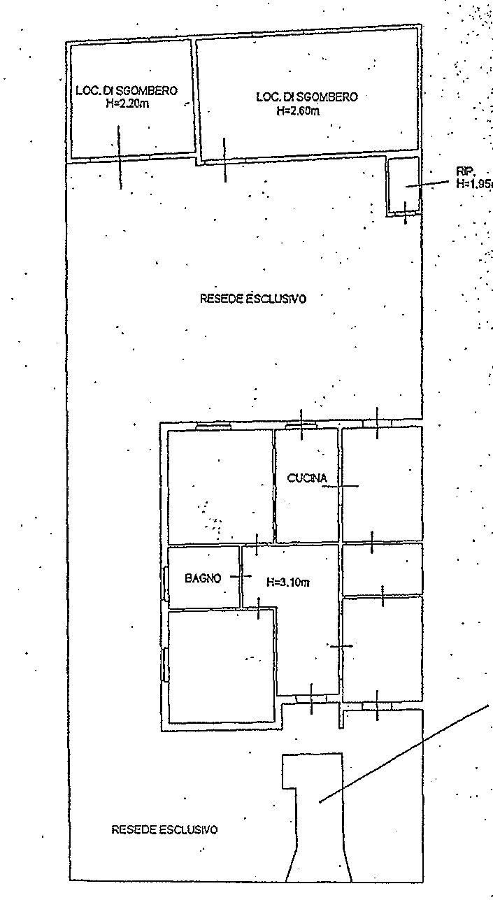 Planimetria 1/1 per rif. 9109