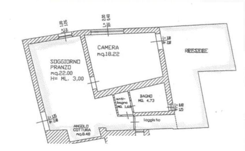 Planimetria 1/1 per rif. 8816-02