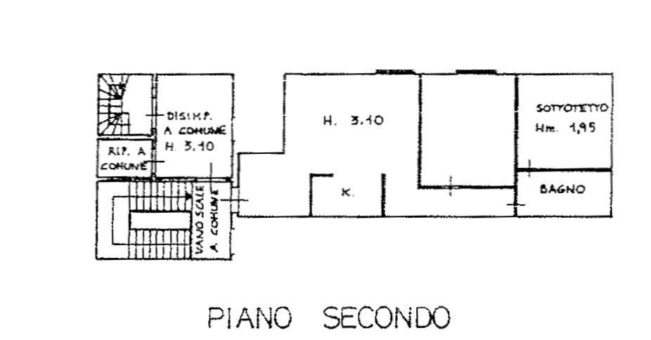 Planimetria 1/1 per rif. 9014-02