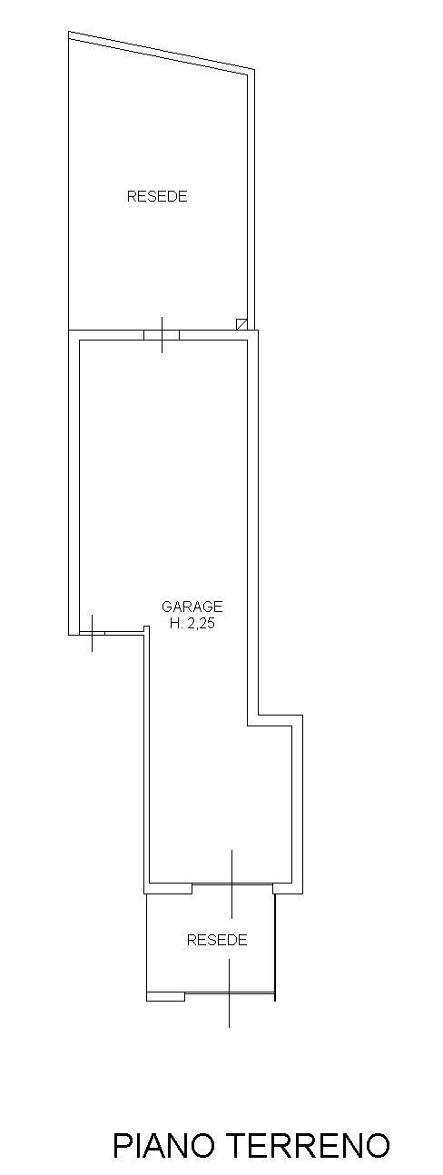 Planimetria 1/4 per rif. 9120-02
