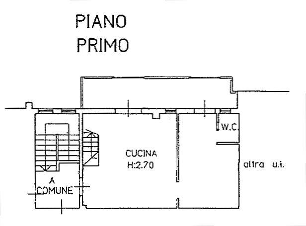 Planimetria 1/4 per rif. 9125