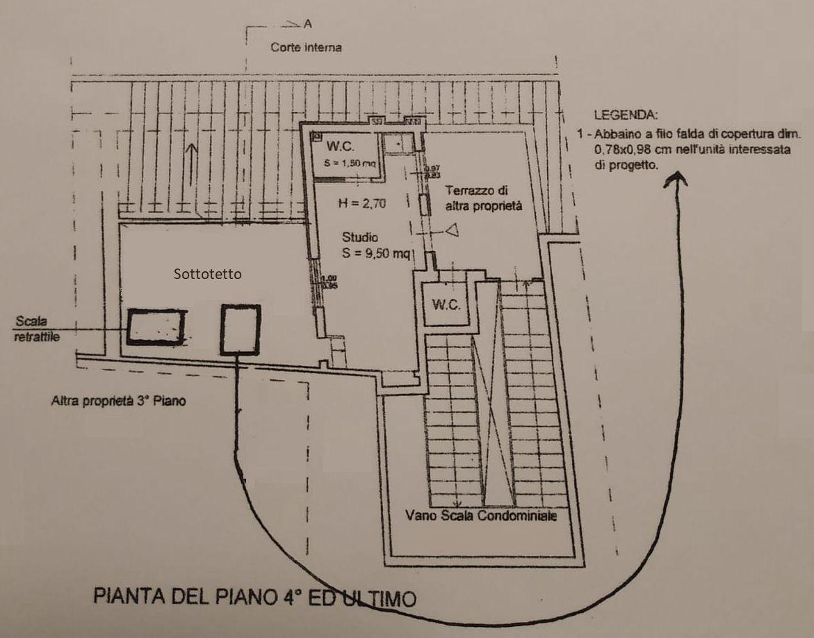 Planimetria 2/2 per rif. 9126
