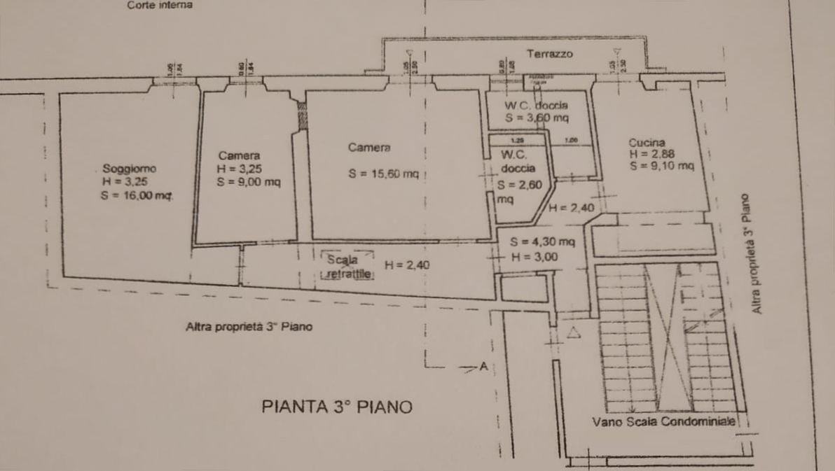 Planimetria 1/2 per rif. 9126
