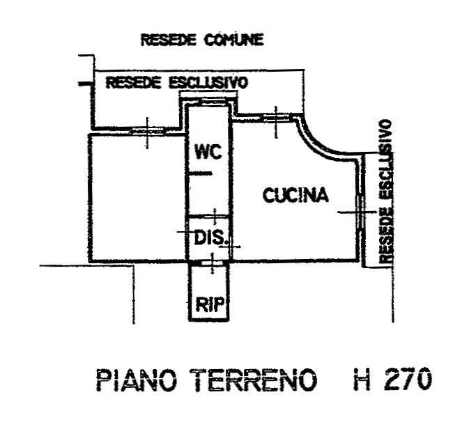 Planimetria 1/3 per rif. 9118