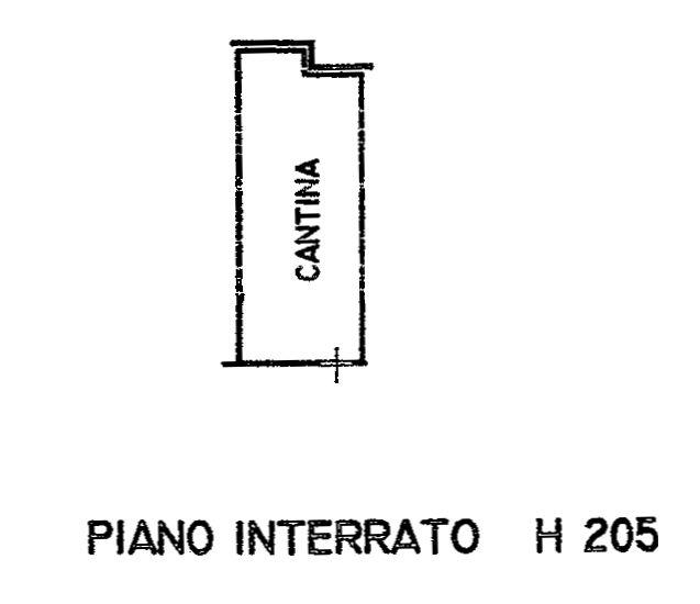 Planimetria 2/3 per rif. 9118