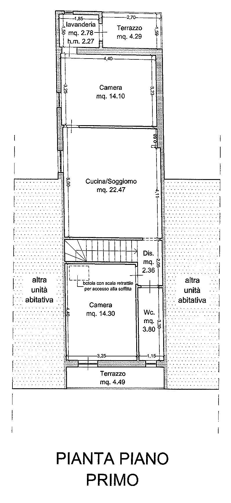 Planimetria 1/2 per rif. 9127