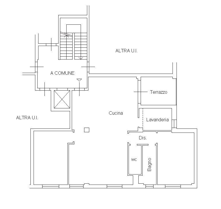 Planimetria 2/2 per rif. 9076-02