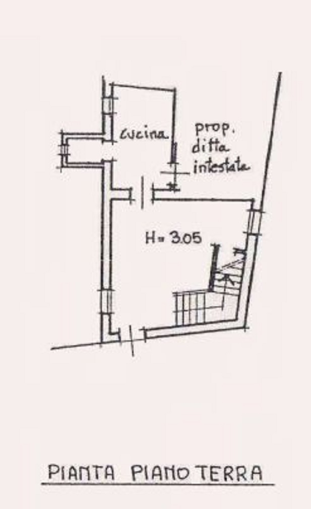 Planimetria 1/3 per rif. 9128