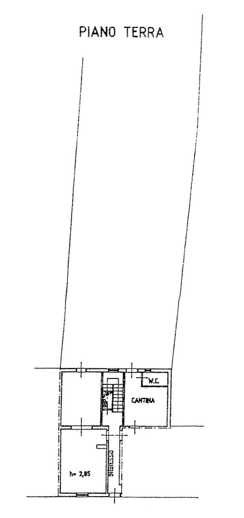 Planimetria 1/4 per rif. 9130