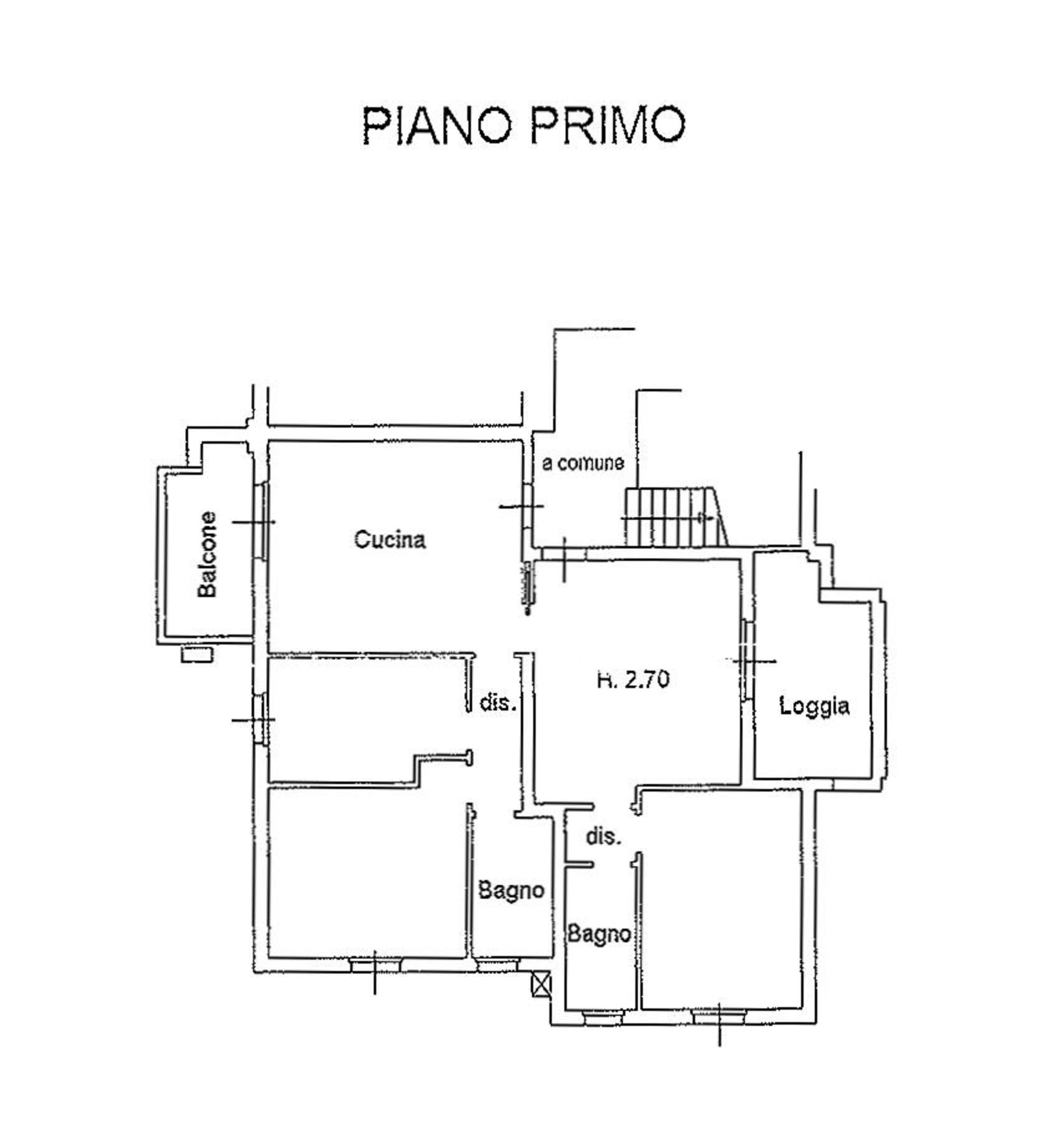 Planimetria 1/2 per rif. 9132