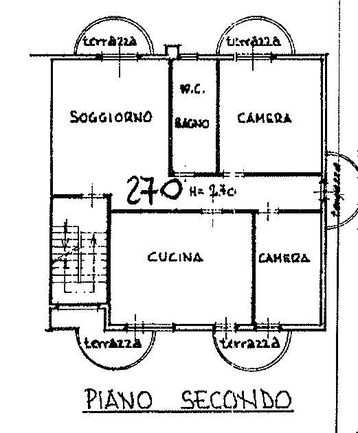 Planimetria 2/3 per rif. 9115