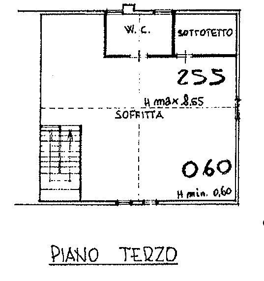 Planimetria 3/3 per rif. 9115