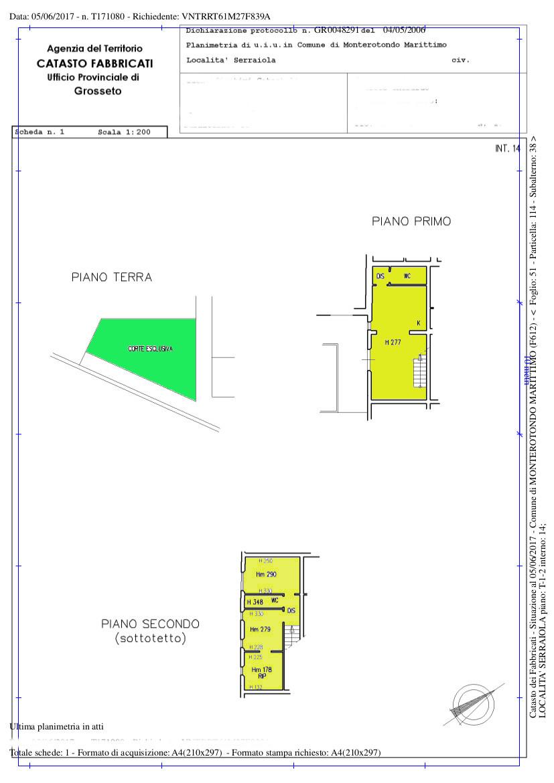 Planimetria /1 per rif. 49