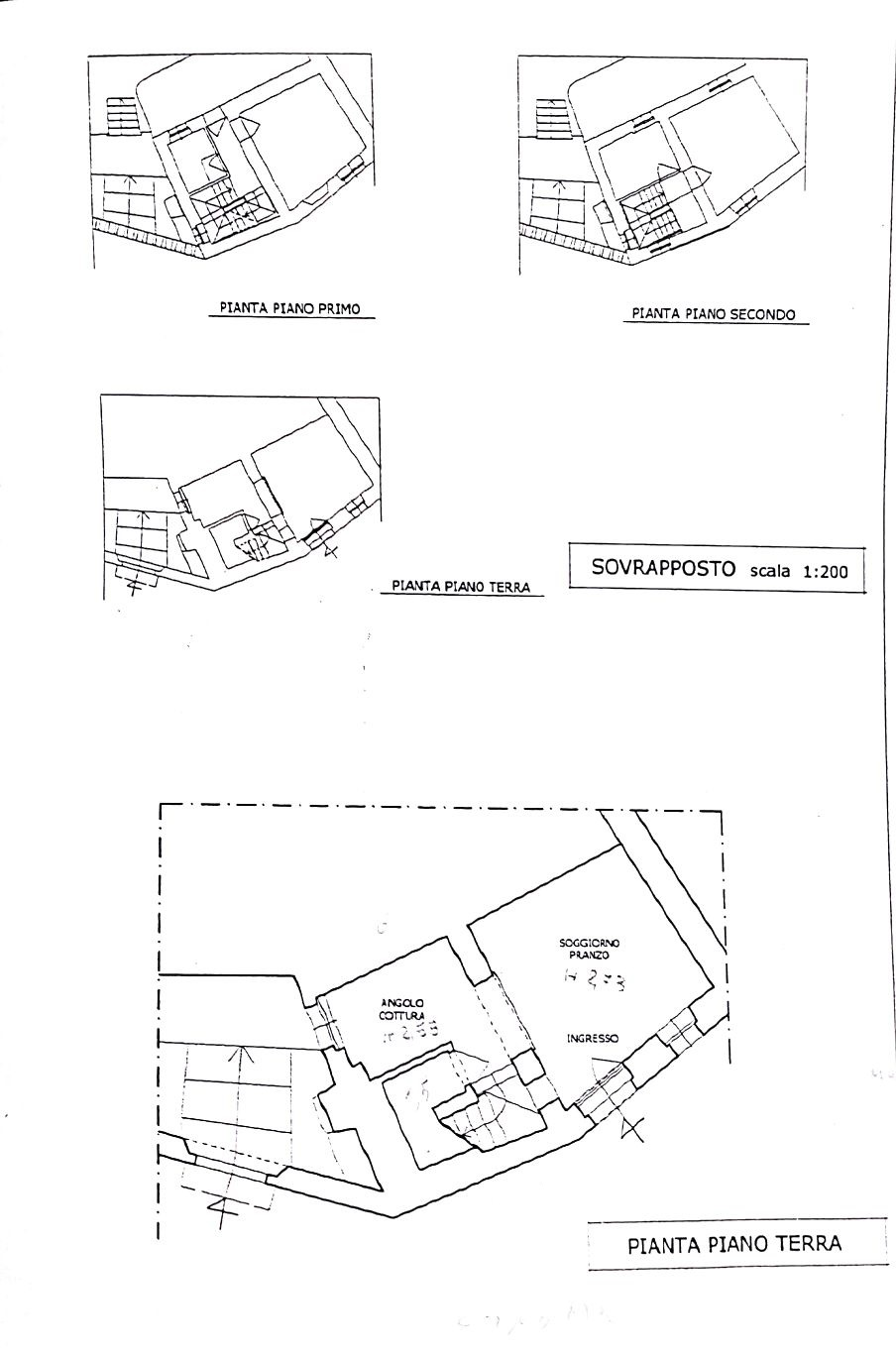 Planimetria 1/2 per rif. CA1912T