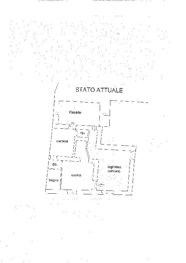 Planimetria 1/1 per rif. SG1518A