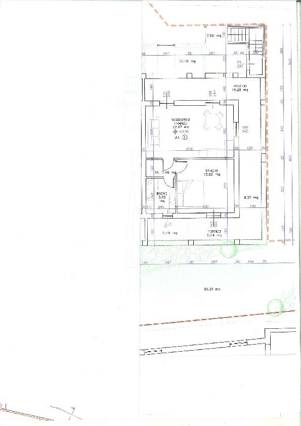 Planimetria 1/1 per rif. SG042VA