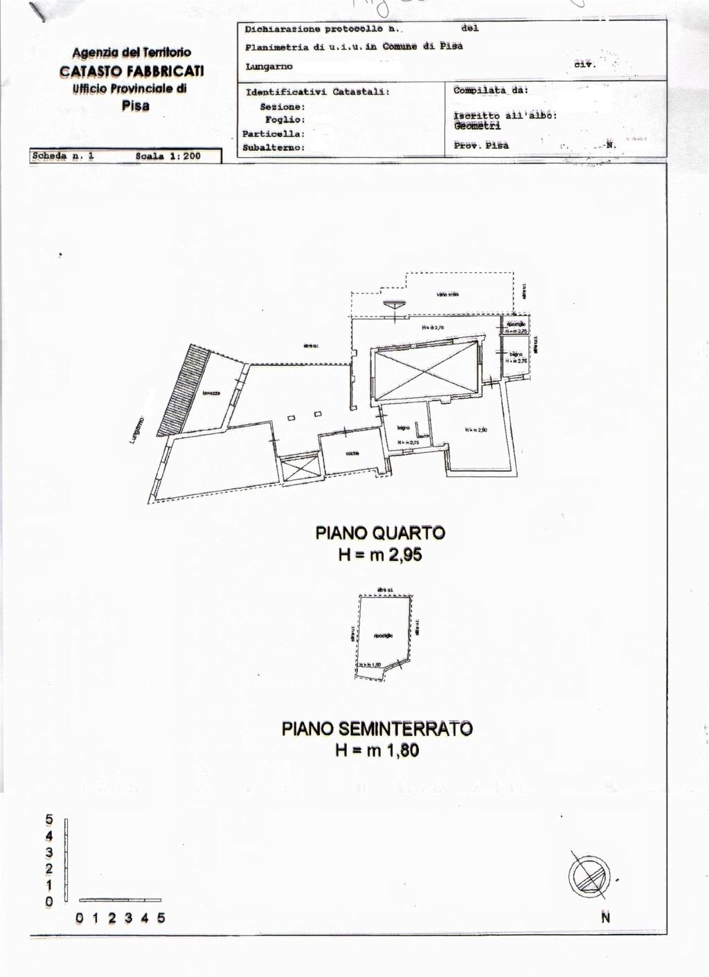 Planimetria /1 per rif. sd3636v