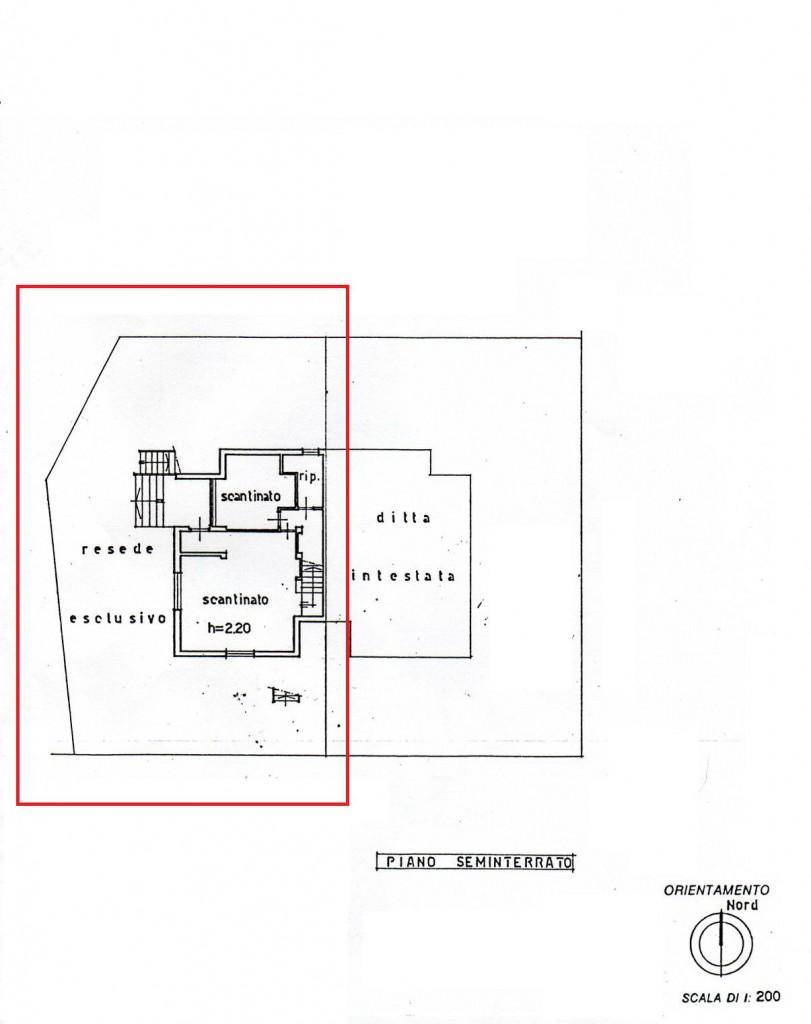 Planimetria /2 per rif. sd2504v