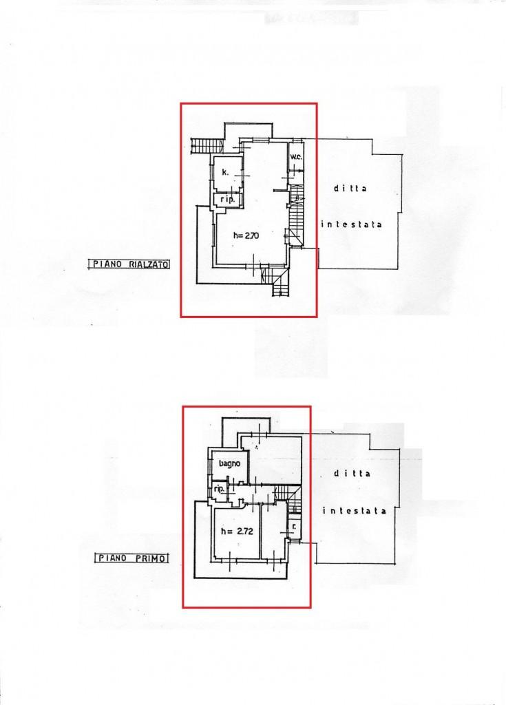 Planimetria 1/2 per rif. sd2504v
