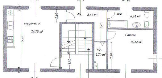 Planimetria /1 per rif. sd333v