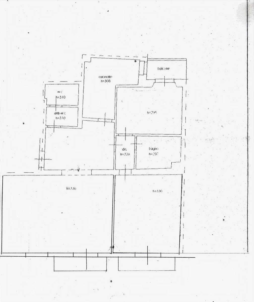 Planimetria /1 per rif. sd4327v