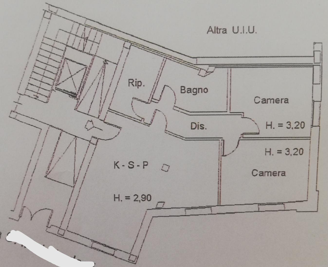 Planimetria /1 per rif. sd2367v