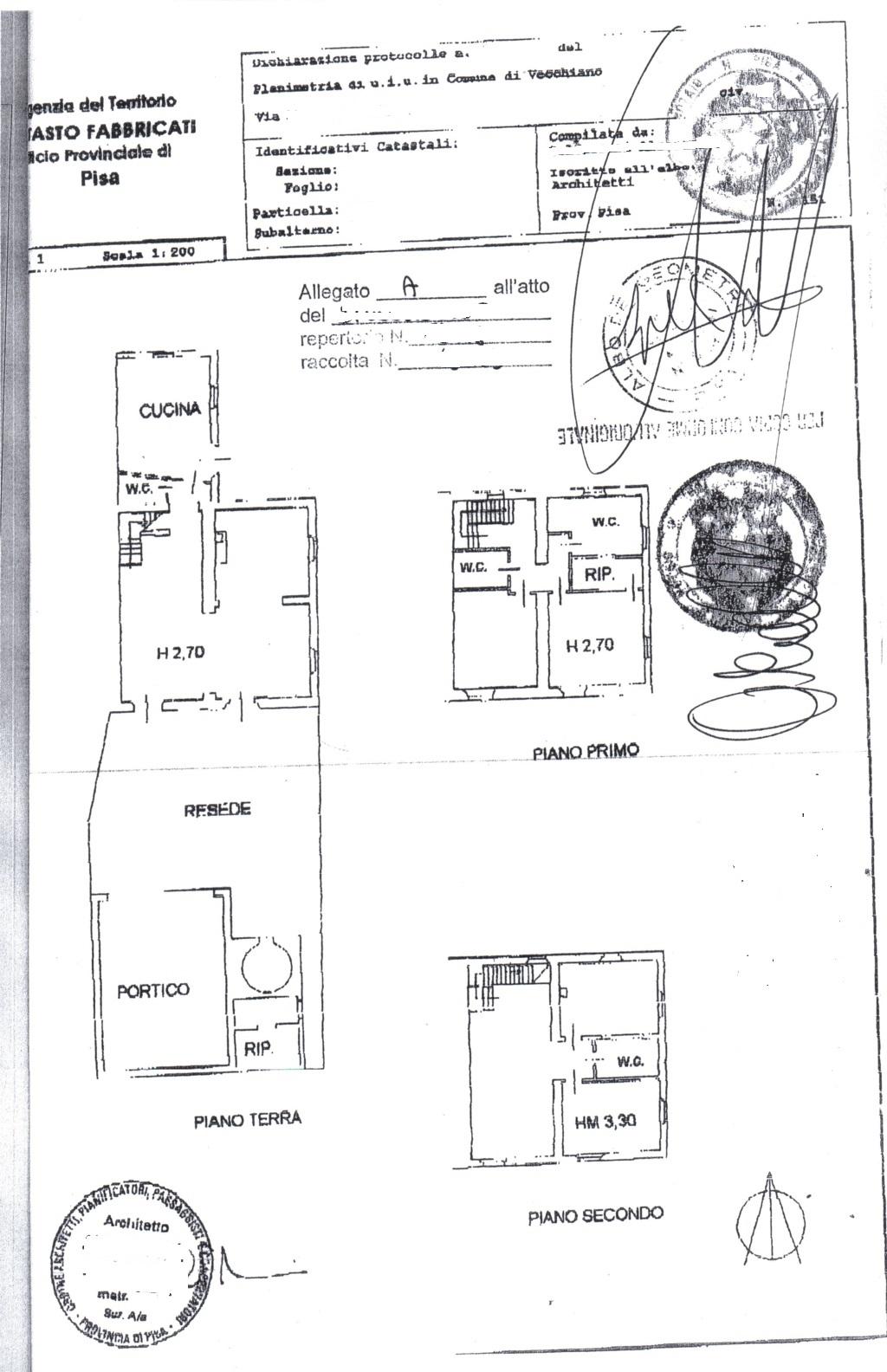 Planimetria /1 per rif. sd4543v
