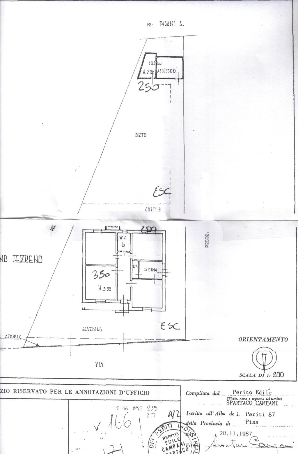 Planimetria /1 per rif. sd4701v