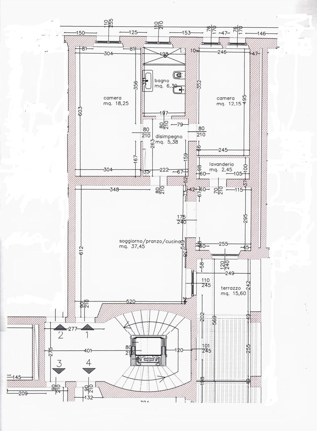 Planimetria /1 per rif. sd4715v
