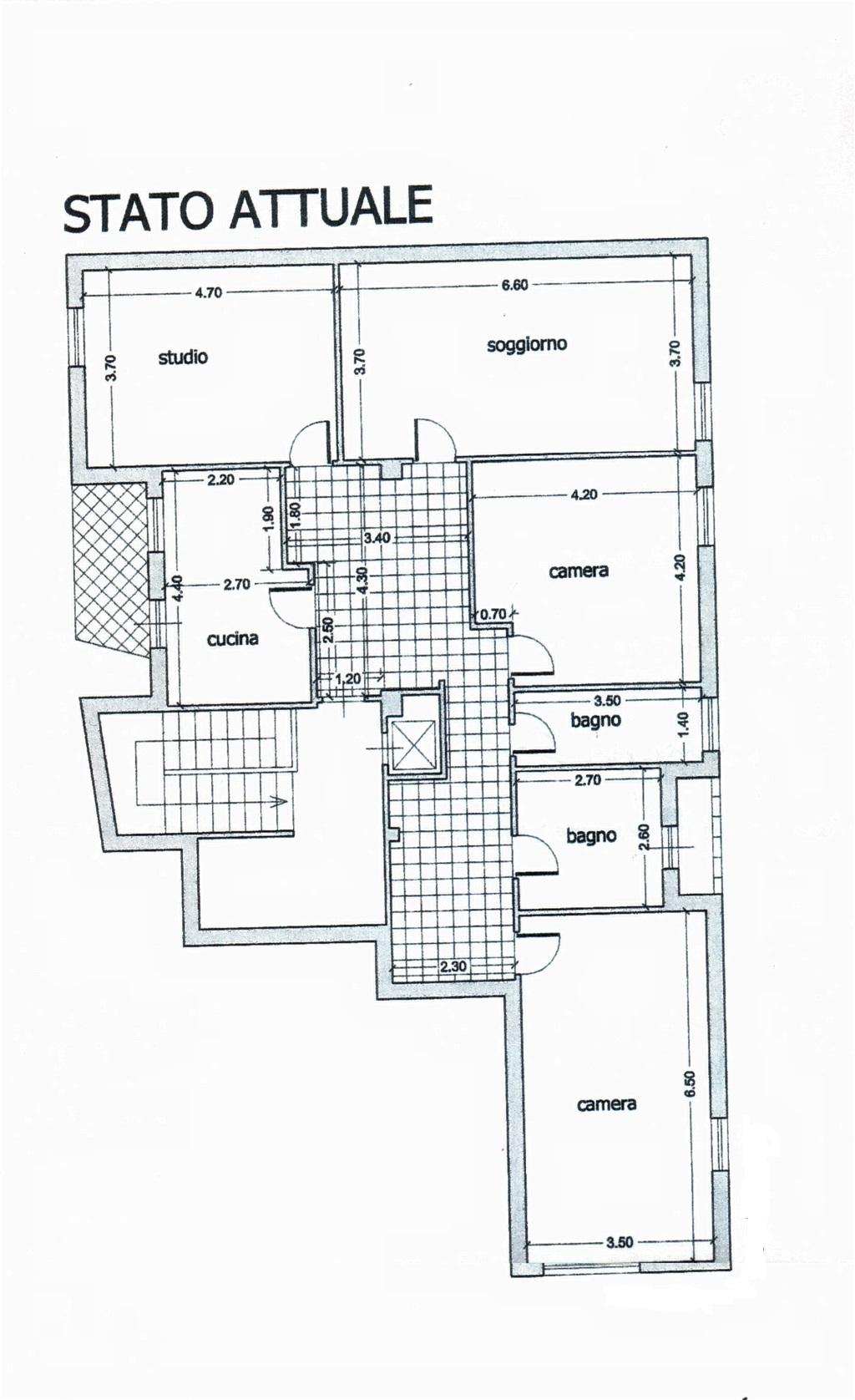 Planimetria /1 per rif. sd4678v