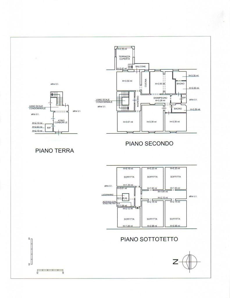 Planimetria /1 per rif. sd2664v