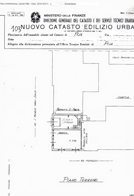Planimetria 1/2 per rif. sd4843v