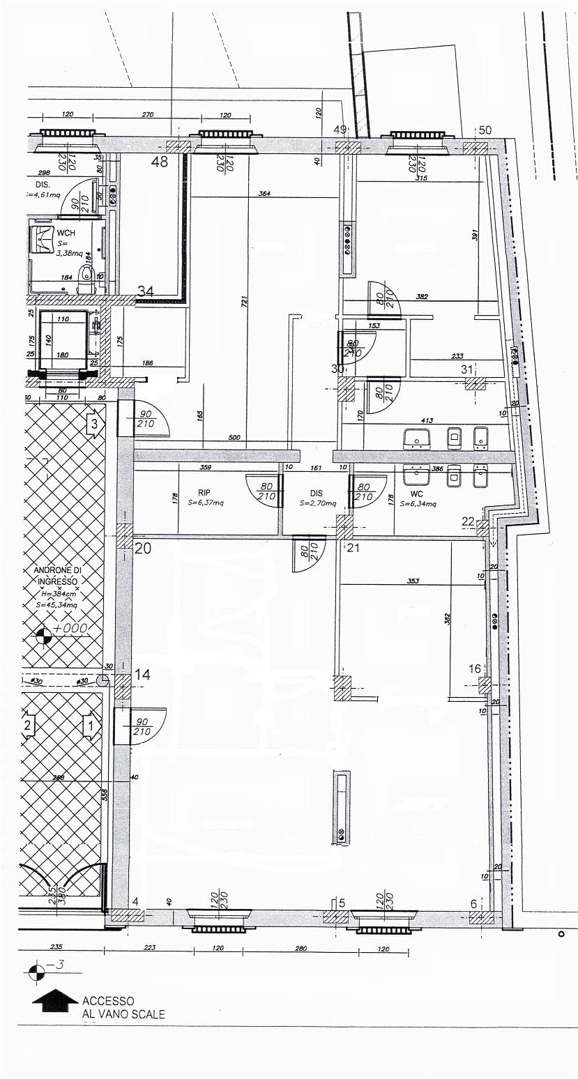 Planimetria /1 per rif. sd5045v