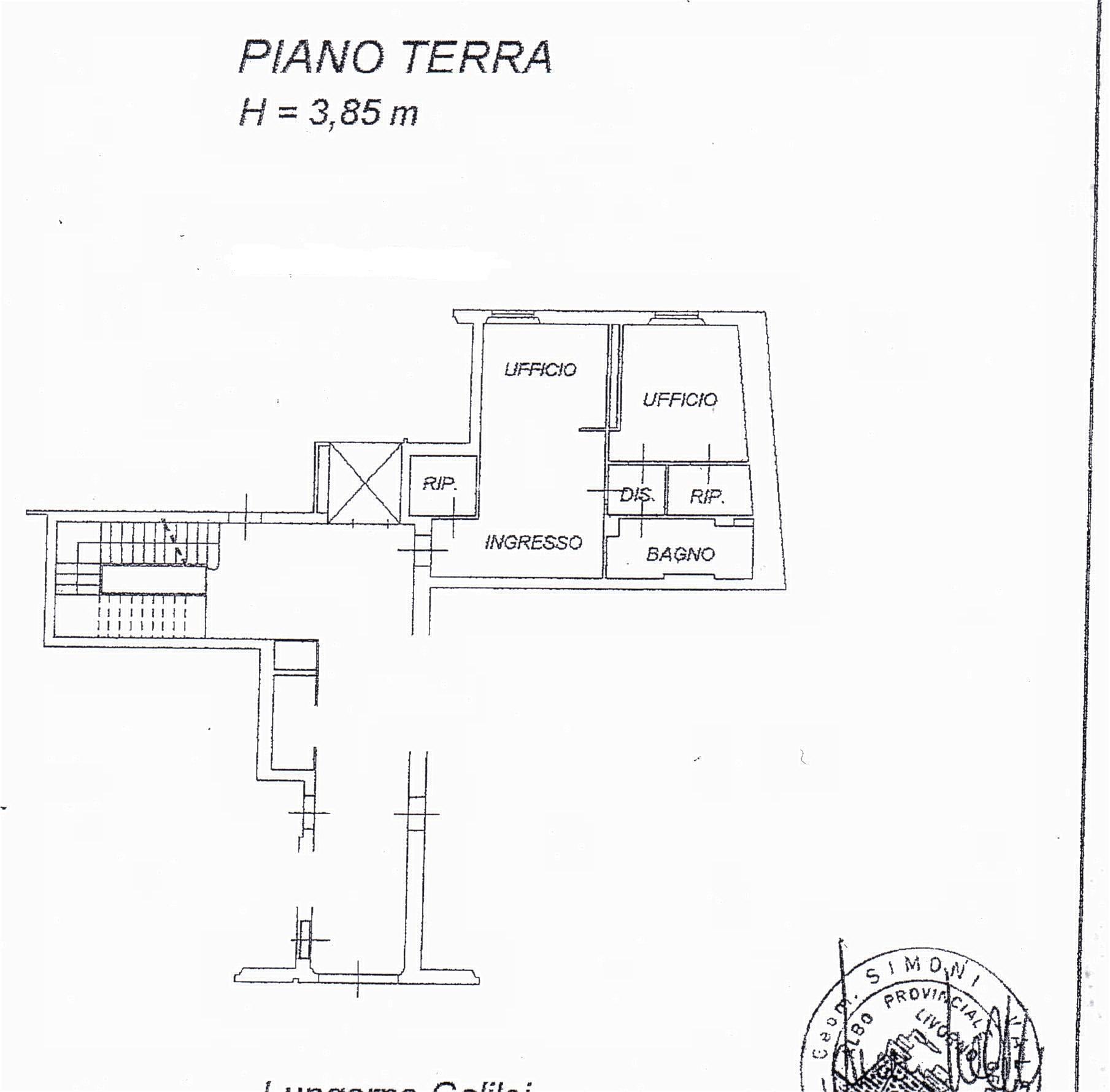 Planimetria /1 per rif. sd5043v