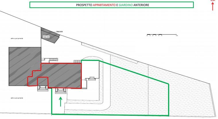 Planimetria 1/4 per rif. sd5142v