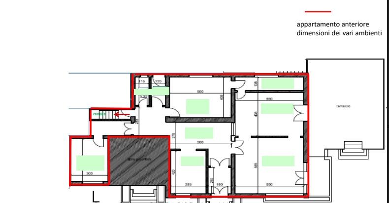 Planimetria 2/4 per rif. sd5142v
